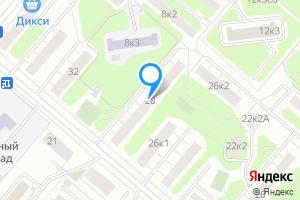 Сдается двухкомнатная квартира в Москве Бобруйская ул., 28