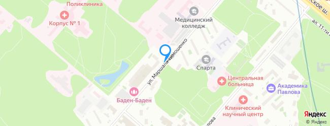 улица Маршала Тимошенко