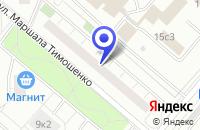 Схема проезда до компании ТФ ДК ЭЛЕКТРОСНАБ в Москве