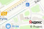 Схема проезда до компании Nails place в Москве