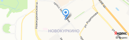 Натали на карте Химок