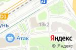 Схема проезда до компании ПАРТНЕР ПФ в Москве