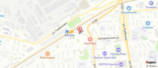 Карта расположения пункта доставки Москва Толбухина в городе Москва