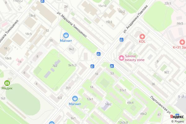 Ремонт телевизоров Район Кунцево на яндекс карте