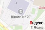 Схема проезда до компании Школа №22 в Путилково