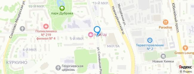 улица Соловьиная Роща