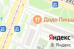 Схема проезда до компании Фламинго-СЗ в Москве