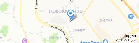 НовоДент на карте Химок