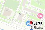 Схема проезда до компании Провизор-В в Москве