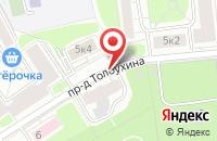 Схема проезда до компании Техноспецимпорт в Москве