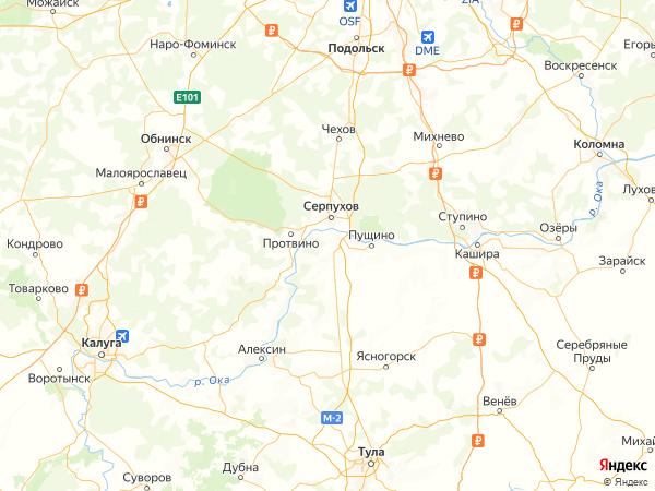 коттеджный посёлок Усадьба Романово на карте