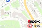 Схема проезда до компании BORODA в Москве