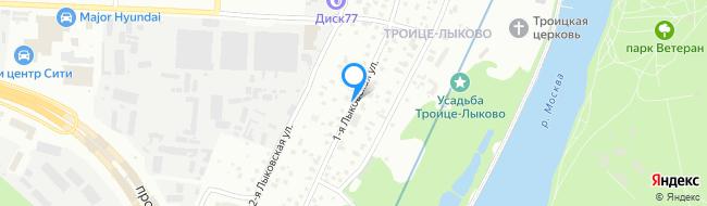 улица Лыковская 1-я