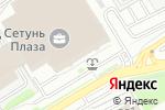 Схема проезда до компании Red cup в Москве