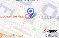 Схема проезда до компании КЛУБ САТУРН в Москве