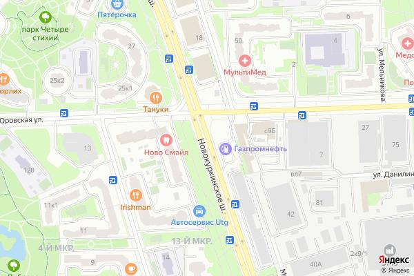 Ремонт телевизоров Новокуркинское шоссе на яндекс карте
