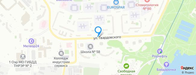 улица Твардовского