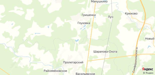 Сафоново на карте