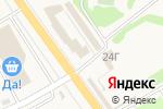 Схема проезда до компании Продуктовый магазин в Озерецком
