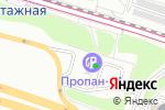 Схема проезда до компании 1-й мобильный шиномонтаж в Москве