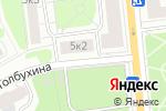 Схема проезда до компании Легенда в Москве