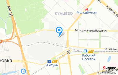Местоположение на карте пункта техосмотра по адресу г Москва, ул Боженко, д 3 стр 21