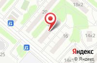 Схема проезда до компании Верона в Москве