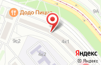 Схема проезда до компании Интерна в Москве