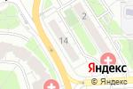 Схема проезда до компании Центральное Европейское Агентство Недвижимости в Москве