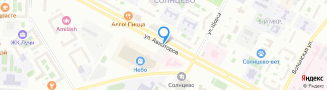 улица Авиаторов
