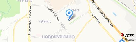 Респект-Полис на карте Химок