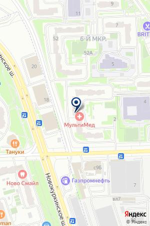 СТРАХОВАЯ КОМПАНИЯ ОСНОВА на карте Химок