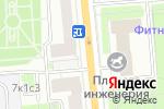 Схема проезда до компании Эскимо-Фили в Москве