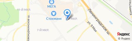 Мастерская по ремонту обуви и изготовлению ключей на ул. Марии Рубцовой на карте Химок