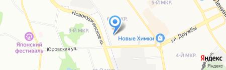 Пенуэл на карте Химок