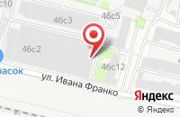 Схема проезда до компании Техалюминий в Москве