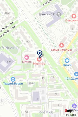 ПАРИКМАХЕРСКАЯ ДИАНА на карте Химок