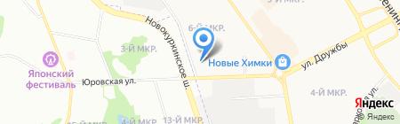 МоАЗ на карте Химок
