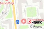 Схема проезда до компании Оптика на ул. Толбухина в Москве