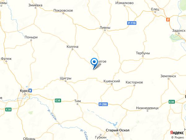 деревня Воробьевка на карте
