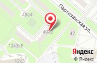 Схема проезда до компании Фонд Арт-Проект в Москве