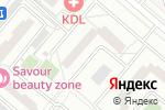 Схема проезда до компании Инженерная служба района Кунцево в Москве