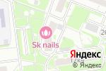 Схема проезда до компании Марисабель в Москве