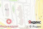 Схема проезда до компании ТехноСтройМастер в Москве