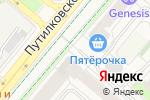 Схема проезда до компании М-Хаус в Москве
