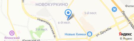 Магазин товаров для дома на проспекте Мельникова на карте Химок