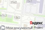 Схема проезда до компании ТД Марко в Москве