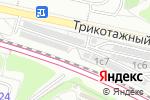 Схема проезда до компании Автостоянка на ул. Василия Петушкова в Москве