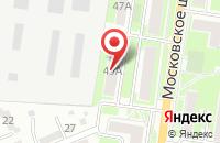 Схема проезда до компании Гусарская баллада+ в Серпухове