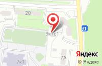 Схема проезда до компании Калибри в Москве
